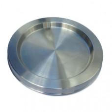 Нагреватель дисковый для чайника 2000W, d=147, h=12, впадина, крепеж 3 папы