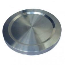 Нагреватель дисковый для чайника 1800W, d=151, h=12, впадина, крепеж 4 папы